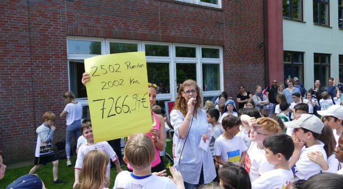 Schule Surenland erläuft Geld für den Schulverein