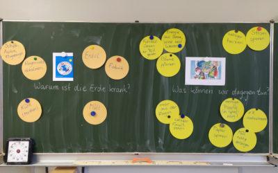 """Die 3a auf dem Weg zu Klimahelden – Stufe 1 """"Mülldetektive"""""""