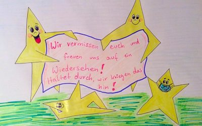 Pinnwand für Schülergrüße