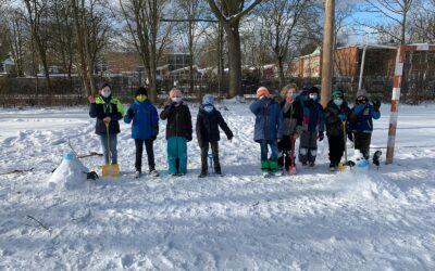 Spaß im Schnee – Die Kinder grüßen alle zuhause